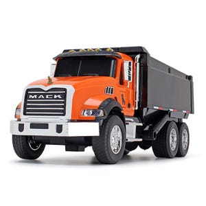 Mack Trucks Orange/Black