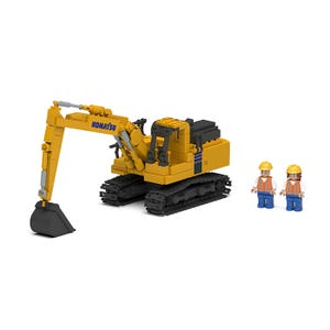 Komatsu Excavator Block Set