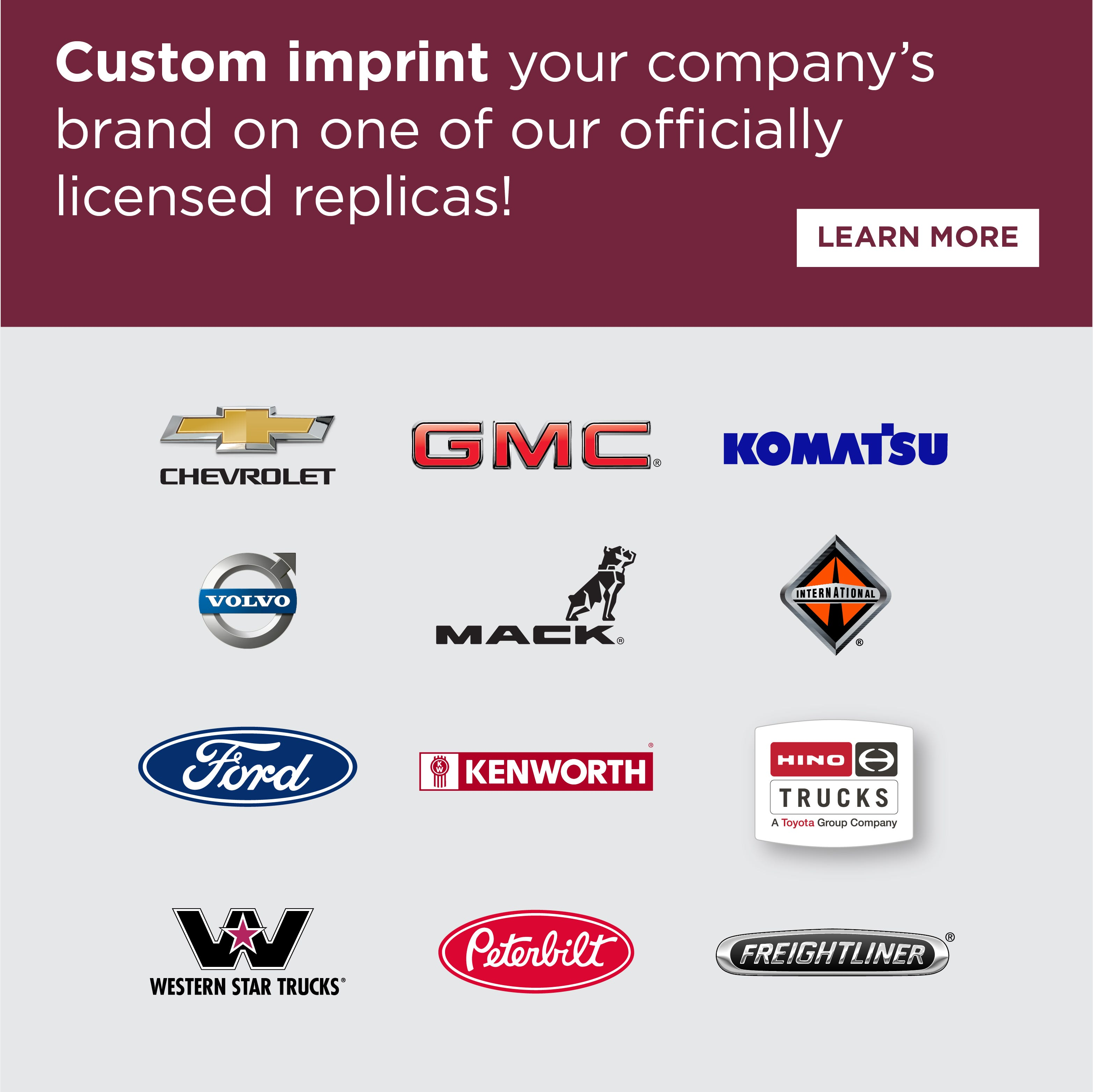 Officially Licensed Diecast Replicas